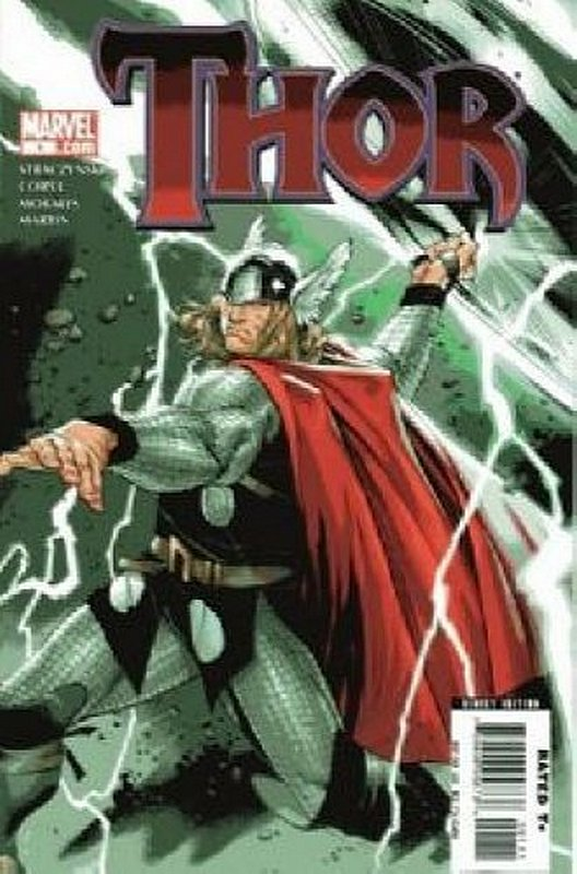 Cover of Thor (Vol 3) #1. One of 250,000 Vintage American Comics on sale from Krypton!