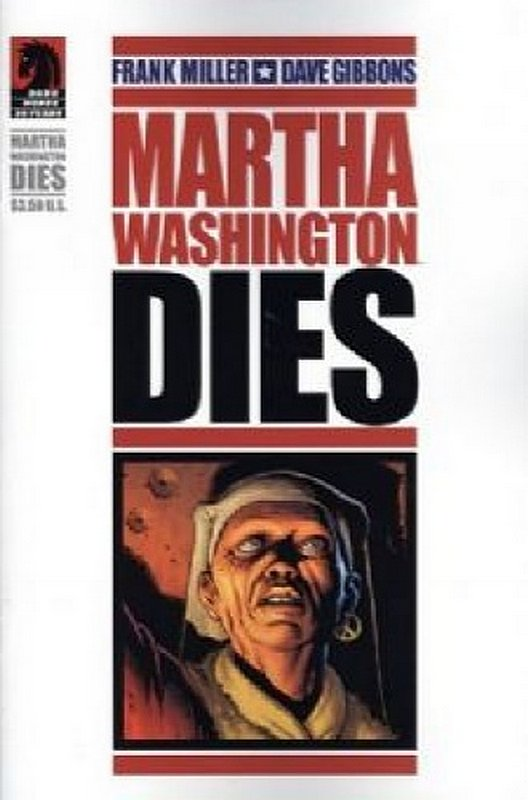 Cover of Martha Washington Dies #1. One of 250,000 Vintage American Comics on sale from Krypton!