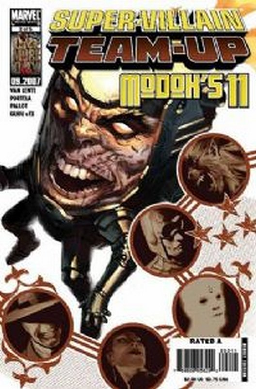 Cover of Super-Villain Team-up: Modoks 11 (2007 Ltd) #2. One of 250,000 Vintage American Comics on sale from Krypton!