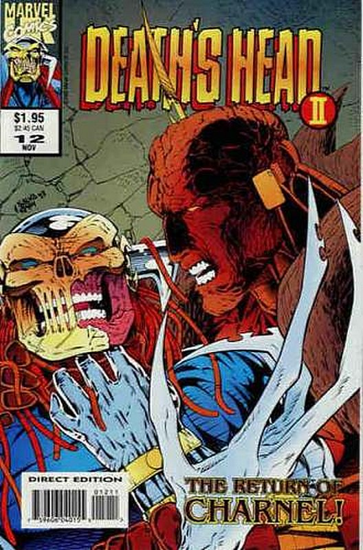Cover of Deaths Head II (Vol 1) #12. One of 250,000 Vintage American Comics on sale from Krypton!
