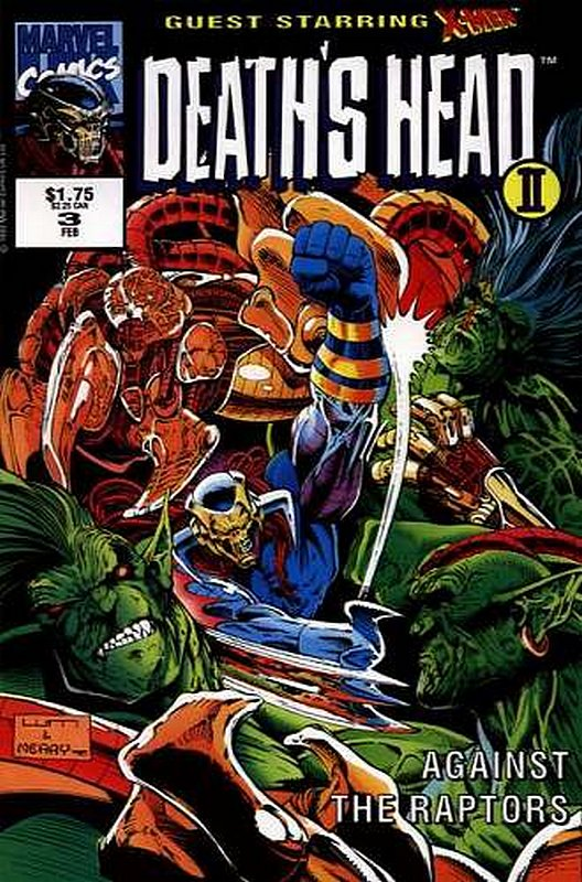 Cover of Deaths Head II (Vol 1) #3. One of 250,000 Vintage American Comics on sale from Krypton!