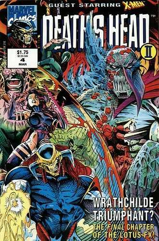 Cover of Deaths Head II (Vol 1) #4. One of 250,000 Vintage American Comics on sale from Krypton!