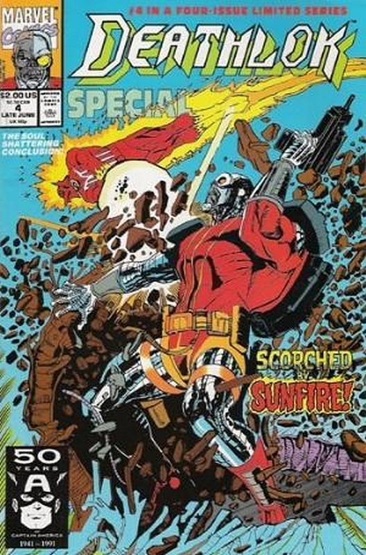 Cover of Deathlok Special (1991) #4. One of 250,000 Vintage American Comics on sale from Krypton!