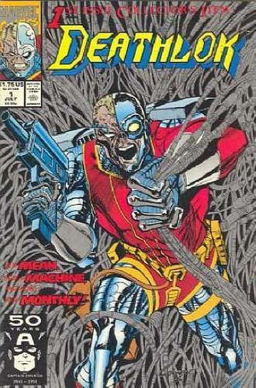 Cover of Deathlok (Vol 1) #1. One of 250,000 Vintage American Comics on sale from Krypton!