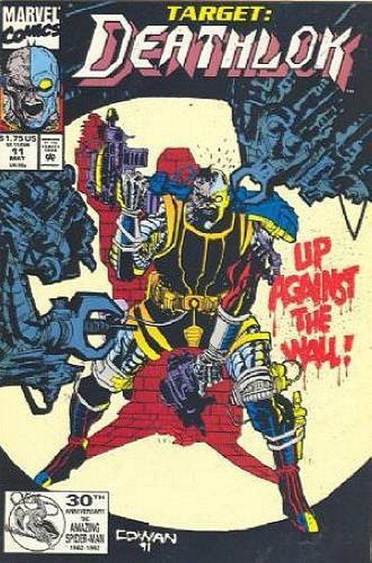 Cover of Deathlok (Vol 1) #11. One of 250,000 Vintage American Comics on sale from Krypton!