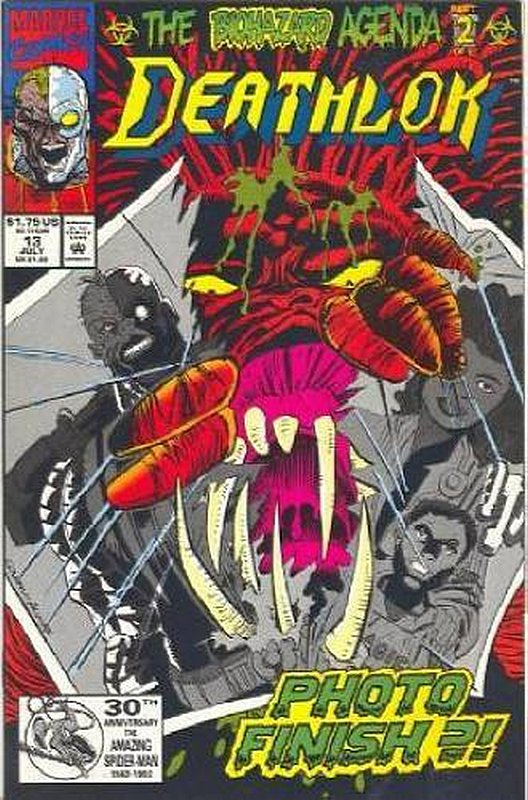 Cover of Deathlok (Vol 1) #13. One of 250,000 Vintage American Comics on sale from Krypton!