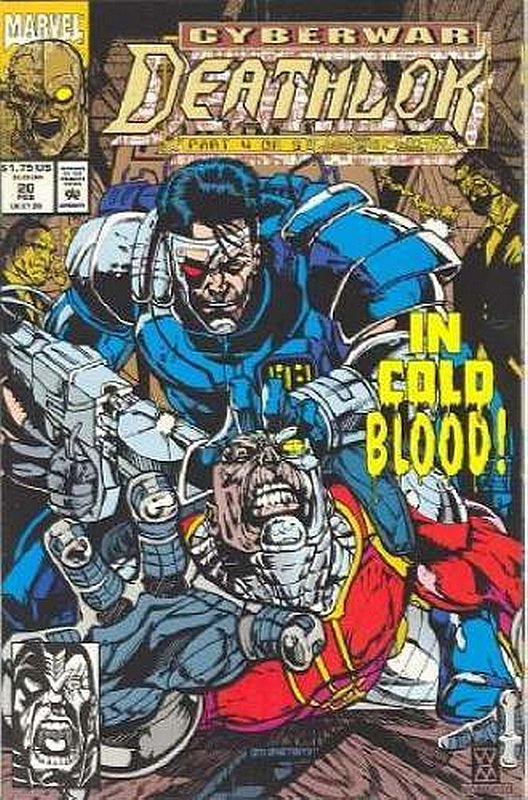 Cover of Deathlok (Vol 1) #20. One of 250,000 Vintage American Comics on sale from Krypton!