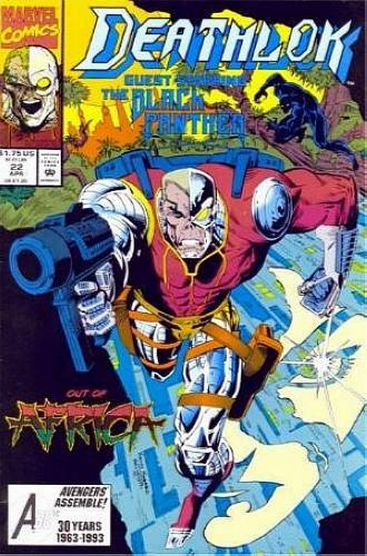 Cover of Deathlok (Vol 1) #22. One of 250,000 Vintage American Comics on sale from Krypton!