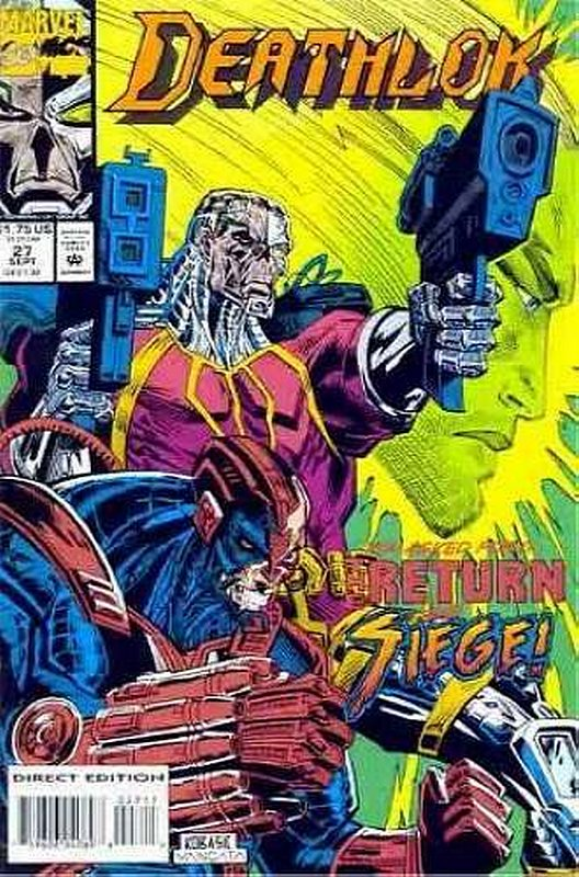 Cover of Deathlok (Vol 1) #27. One of 250,000 Vintage American Comics on sale from Krypton!