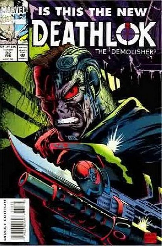Cover of Deathlok (Vol 1) #32. One of 250,000 Vintage American Comics on sale from Krypton!