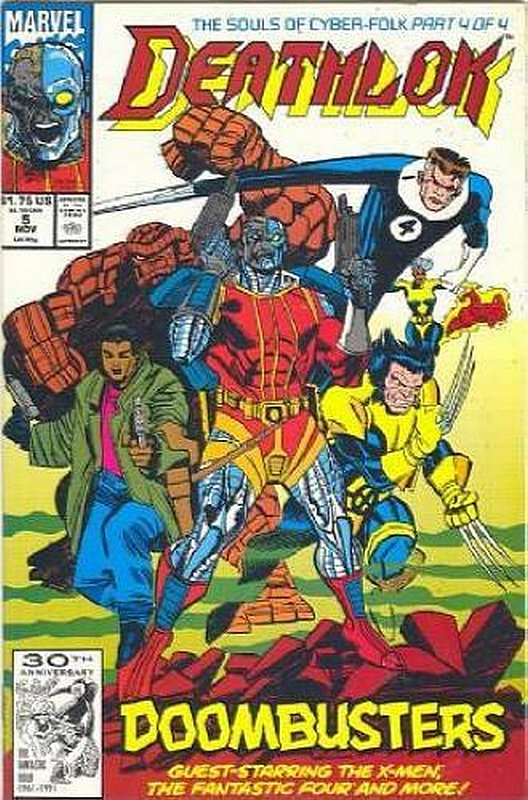 Cover of Deathlok (Vol 1) #5. One of 250,000 Vintage American Comics on sale from Krypton!