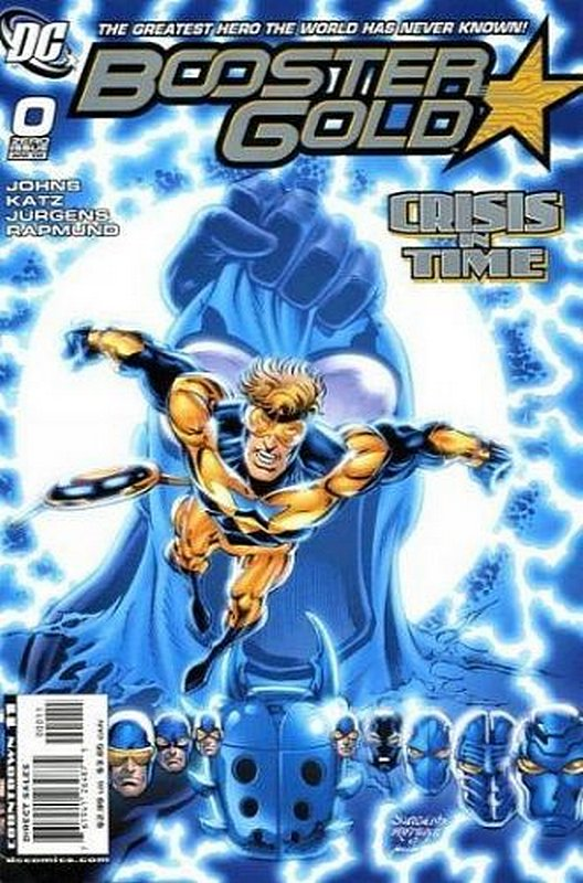 Cover of Booster Gold (Vol 2) The All-New #0. One of 250,000 Vintage American Comics on sale from Krypton!