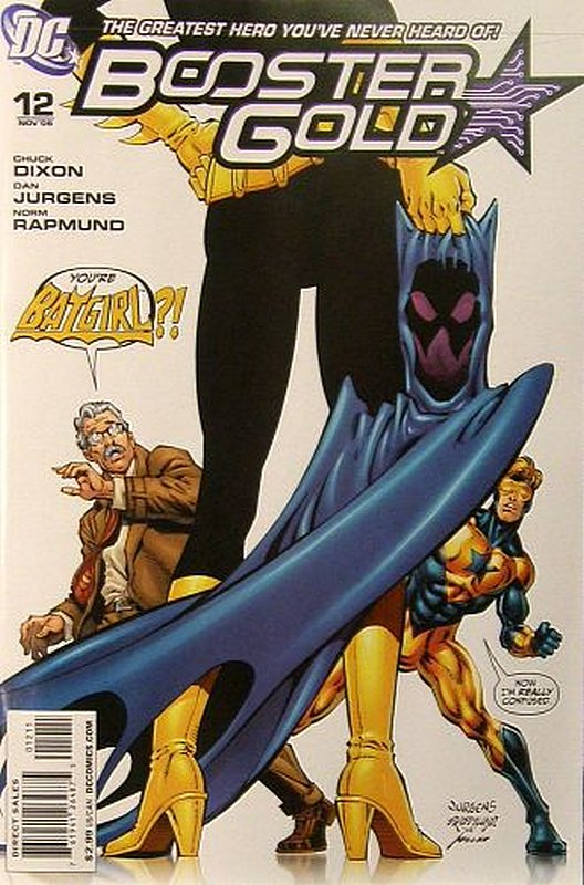 Cover of Booster Gold (Vol 2) The All-New #12. One of 250,000 Vintage American Comics on sale from Krypton!
