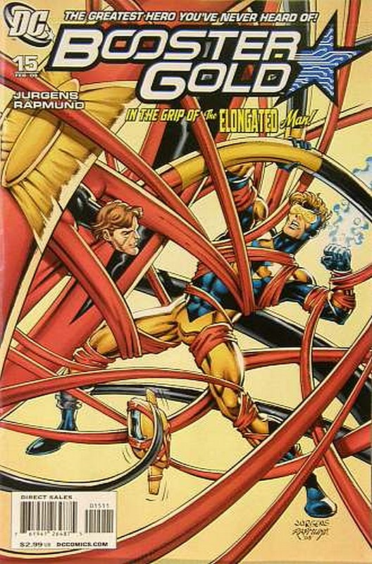 Cover of Booster Gold (Vol 2) The All-New #15. One of 250,000 Vintage American Comics on sale from Krypton!