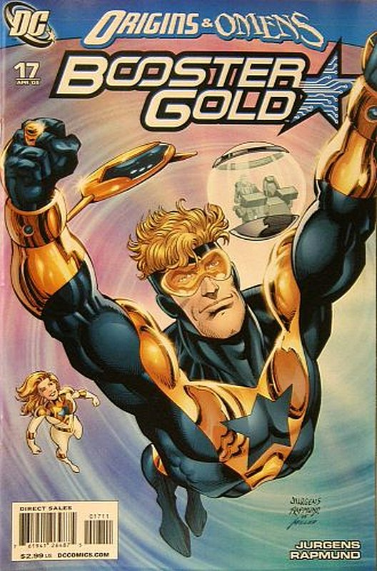 Cover of Booster Gold (Vol 2) The All-New #17. One of 250,000 Vintage American Comics on sale from Krypton!