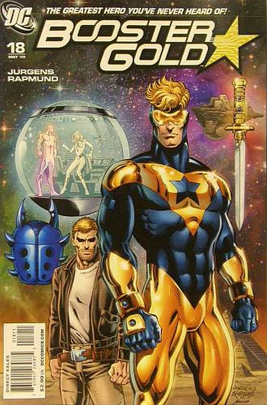 Cover of Booster Gold (Vol 2) The All-New #18. One of 250,000 Vintage American Comics on sale from Krypton!