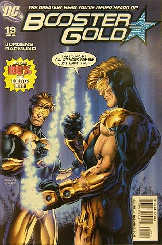 Cover of Booster Gold (Vol 2) The All-New #19. One of 250,000 Vintage American Comics on sale from Krypton!