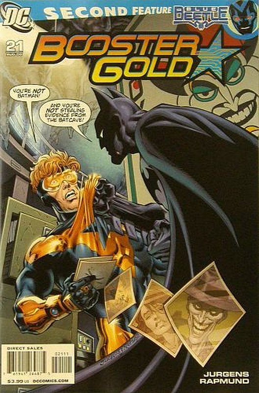 Cover of Booster Gold (Vol 2) The All-New #21. One of 250,000 Vintage American Comics on sale from Krypton!