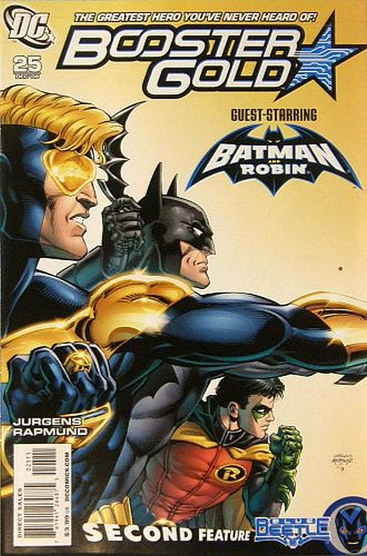 Cover of Booster Gold (Vol 2) The All-New #25. One of 250,000 Vintage American Comics on sale from Krypton!