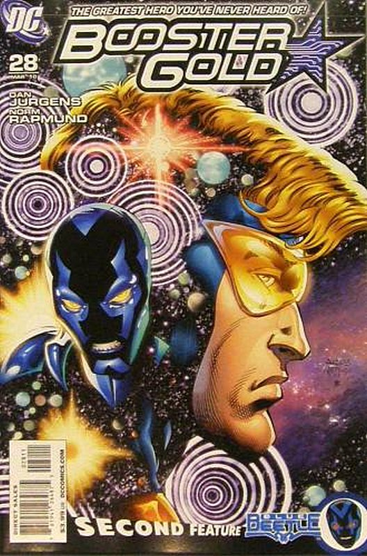Cover of Booster Gold (Vol 2) The All-New #28. One of 250,000 Vintage American Comics on sale from Krypton!