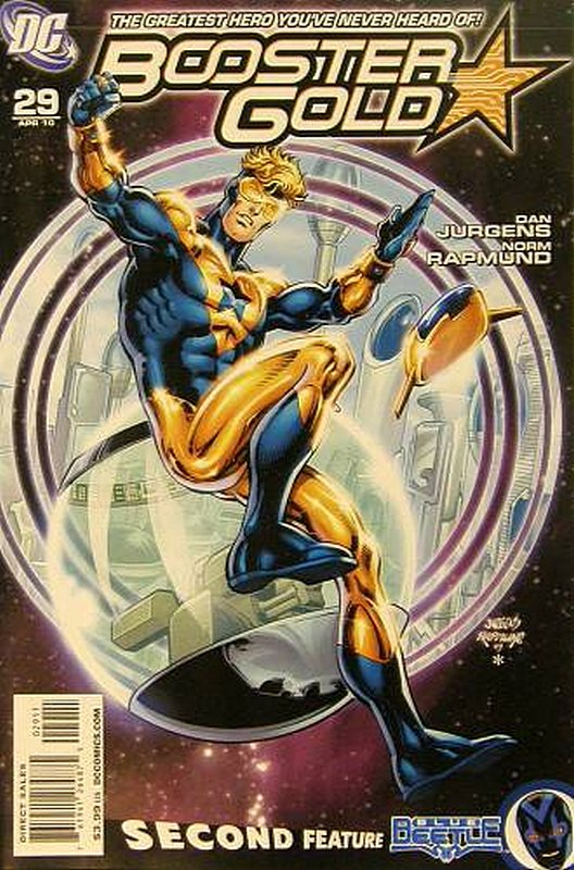Cover of Booster Gold (Vol 2) The All-New #29. One of 250,000 Vintage American Comics on sale from Krypton!