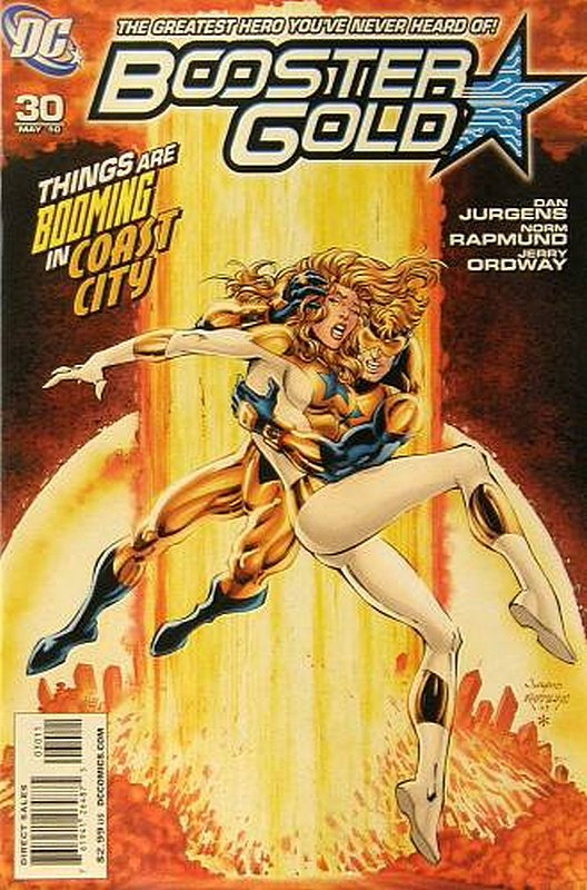Cover of Booster Gold (Vol 2) The All-New #30. One of 250,000 Vintage American Comics on sale from Krypton!