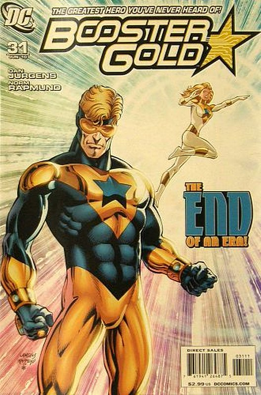 Cover of Booster Gold (Vol 2) The All-New #31. One of 250,000 Vintage American Comics on sale from Krypton!