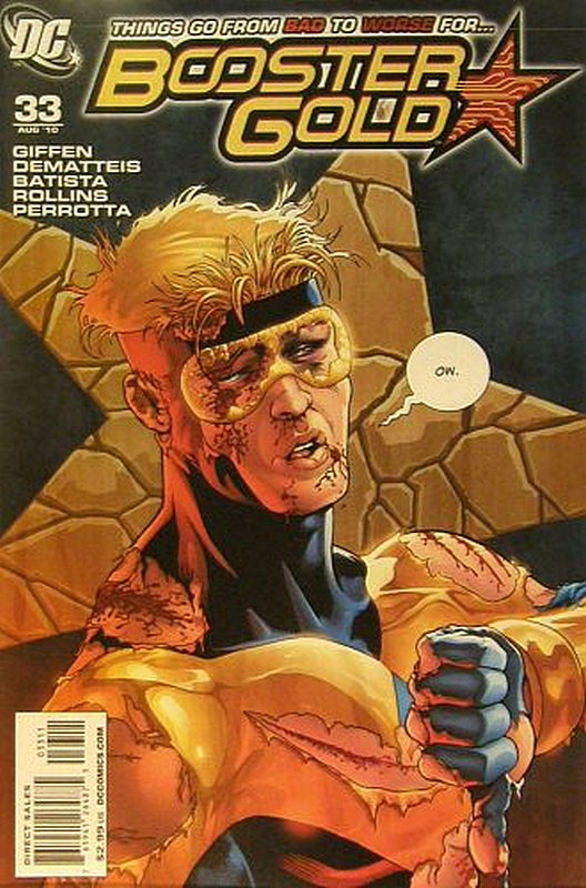 Cover of Booster Gold (Vol 2) The All-New #33. One of 250,000 Vintage American Comics on sale from Krypton!