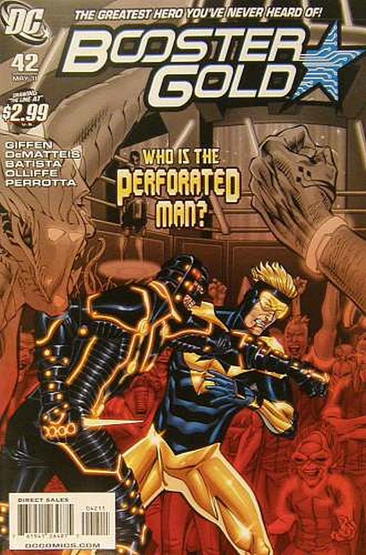 Cover of Booster Gold (Vol 2) The All-New #42. One of 250,000 Vintage American Comics on sale from Krypton!