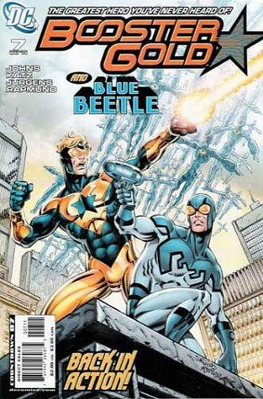 Cover of Booster Gold (Vol 2) The All-New #7. One of 250,000 Vintage American Comics on sale from Krypton!