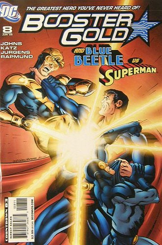 Cover of Booster Gold (Vol 2) The All-New #8. One of 250,000 Vintage American Comics on sale from Krypton!