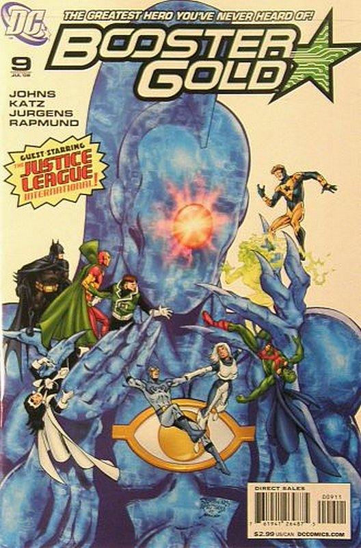 Cover of Booster Gold (Vol 2) The All-New #9. One of 250,000 Vintage American Comics on sale from Krypton!