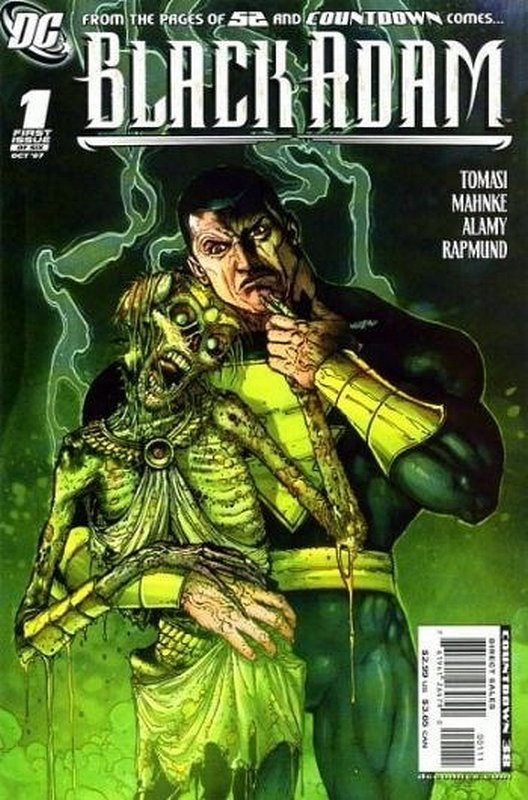 Cover of Black Adam: The Dark Age (2007 Ltd) #1. One of 250,000 Vintage American Comics on sale from Krypton!