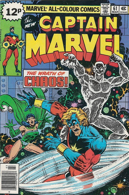 Cover of Captain Marvel (Vol 1) #61. One of 250,000 Vintage American Comics on sale from Krypton!