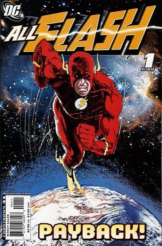 Cover of All Flash (2007 One Shot) #1. One of 250,000 Vintage American Comics on sale from Krypton!