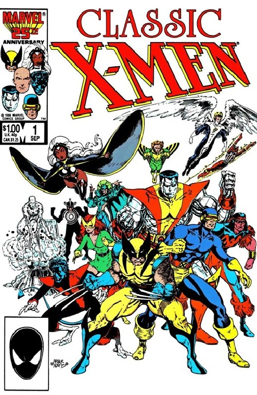 Cover of Classic X-Men #1. One of 250,000 Vintage American Comics on sale from Krypton!
