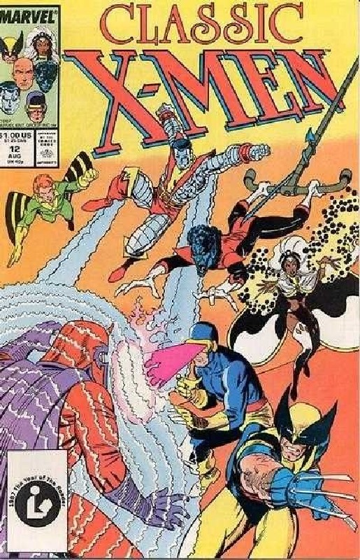Cover of Classic X-Men #12. One of 250,000 Vintage American Comics on sale from Krypton!