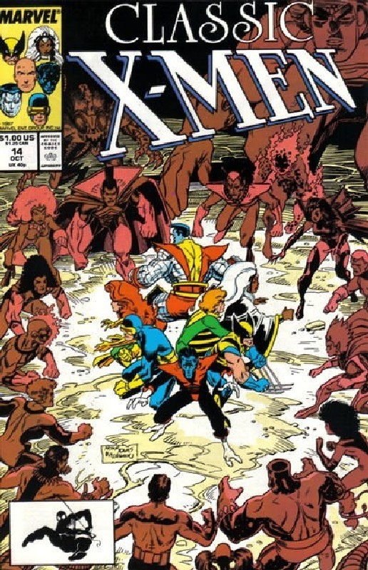 Cover of Classic X-Men #14. One of 250,000 Vintage American Comics on sale from Krypton!