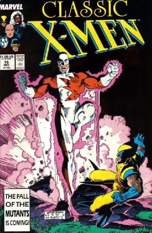 Cover of Classic X-Men #16. One of 250,000 Vintage American Comics on sale from Krypton!