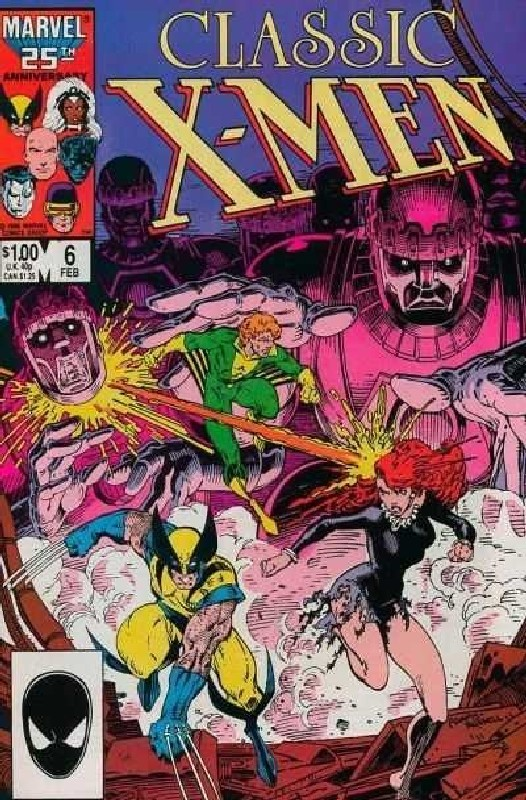 Cover of Classic X-Men #6. One of 250,000 Vintage American Comics on sale from Krypton!