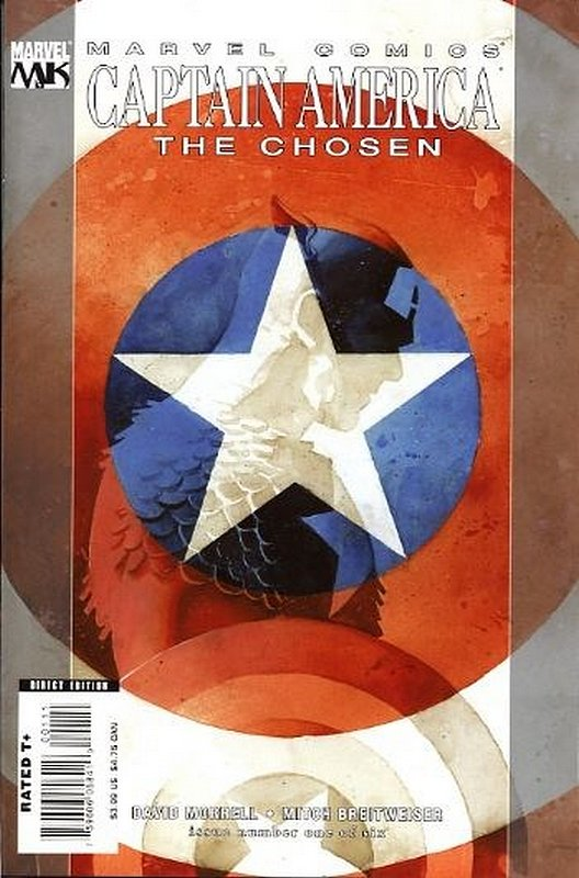 Cover of Captain America: The Chosen (2007 Ltd) #1. One of 250,000 Vintage American Comics on sale from Krypton!