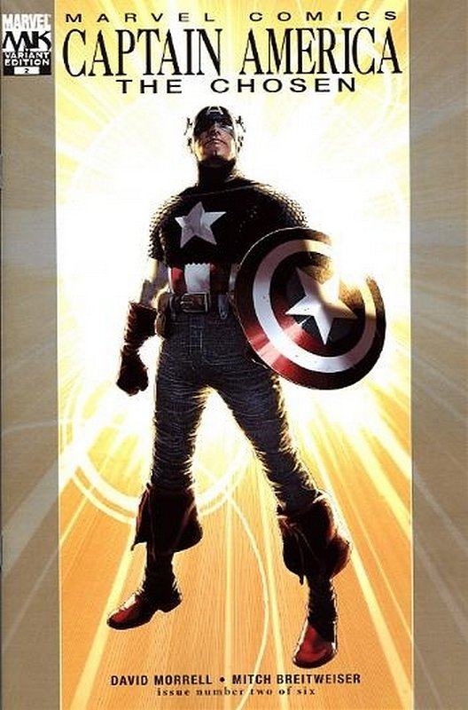 Cover of Captain America: The Chosen (2007 Ltd) #2. One of 250,000 Vintage American Comics on sale from Krypton!