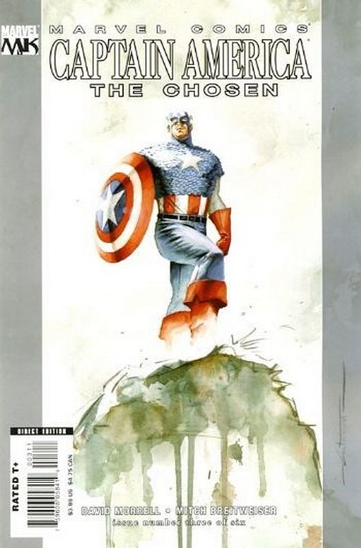Cover of Captain America: The Chosen (2007 Ltd) #3. One of 250,000 Vintage American Comics on sale from Krypton!