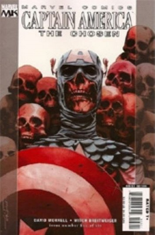Cover of Captain America: The Chosen (2007 Ltd) #5. One of 250,000 Vintage American Comics on sale from Krypton!