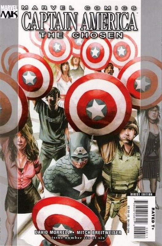 Cover of Captain America: The Chosen (2007 Ltd) #6. One of 250,000 Vintage American Comics on sale from Krypton!