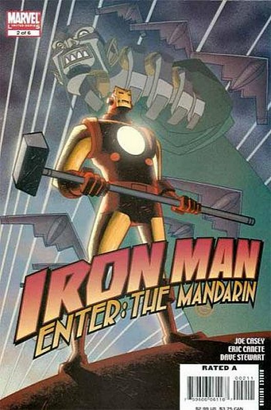 Cover of Iron Man: Enter the Mandarin (2007 Ltd) #2. One of 250,000 Vintage American Comics on sale from Krypton!