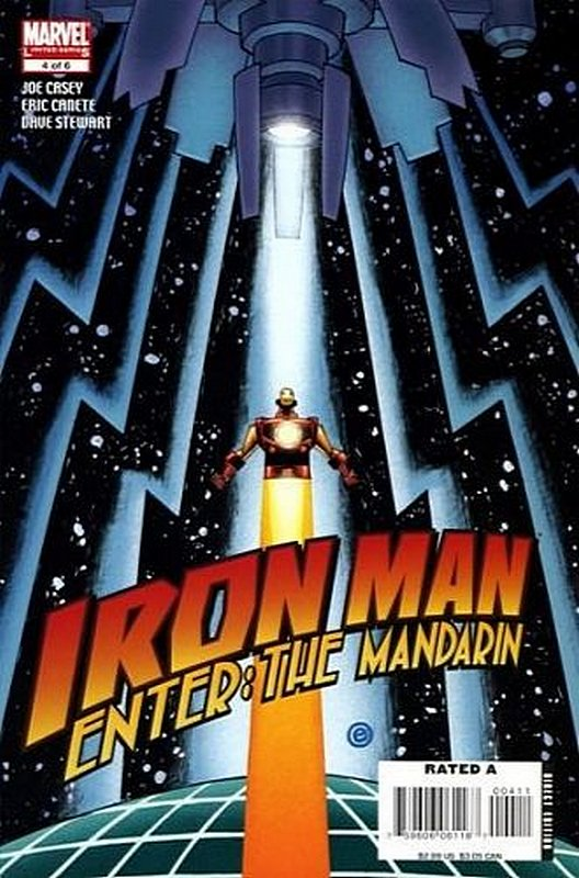 Cover of Iron Man: Enter the Mandarin (2007 Ltd) #4. One of 250,000 Vintage American Comics on sale from Krypton!