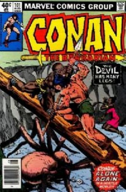 Cover of Conan the Barbarian (Vol 1) #101. One of 250,000 Vintage American Comics on sale from Krypton!