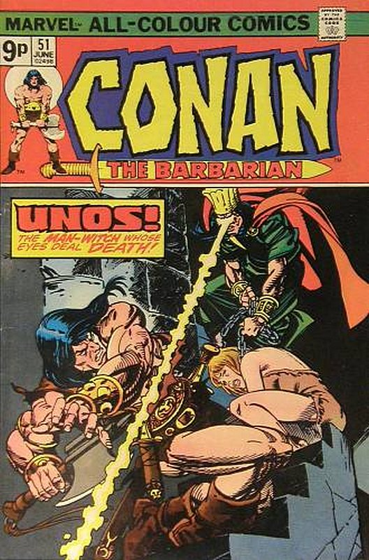 Cover of Conan the Barbarian (Vol 1) #51. One of 250,000 Vintage American Comics on sale from Krypton!