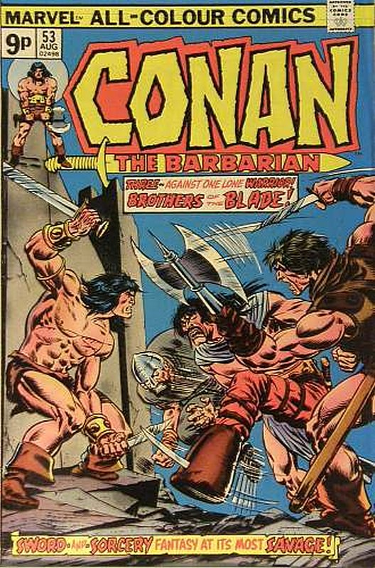 Cover of Conan the Barbarian (Vol 1) #53. One of 250,000 Vintage American Comics on sale from Krypton!